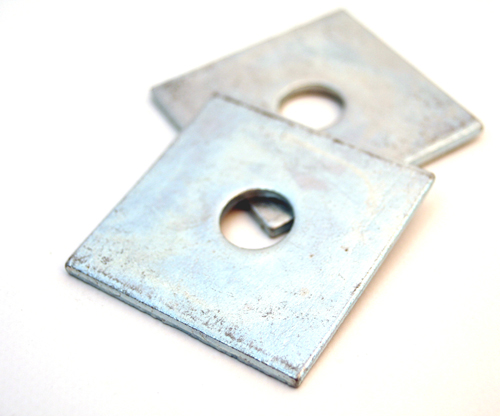 Wedge Washer Plate : Buy boxes of quality bzp bright zinc plated square plate