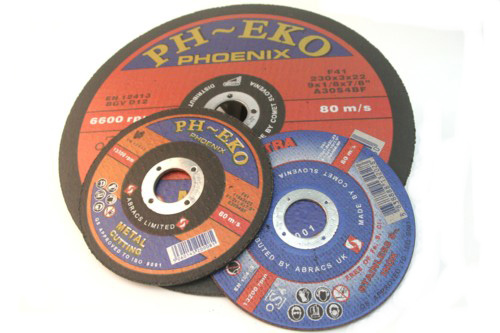 Buy thin cutting discs and flat metal cutting discs uk
