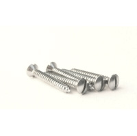 "Self Tapping Screws No 8 x 1 1/4"" Slot Oval"