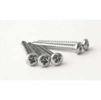 "Self Tapping Screws No 8 x 1 1/2"" Pozi Pan Head. Box 100."