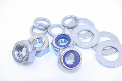 Buy stainless steel full nuts, and nyloc nuts and washers by the box for delivery in the UK