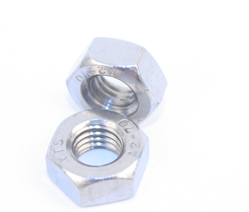 Stainless Steel Full Nuts Grade A2 M6. Pack 100