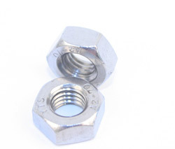 Stainless Steel M 8 Full Nuts Grade A2. Boz 100.