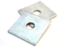 Square Plate Washers M12 (50x50x3mm). Box 100